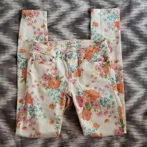 Ultra Skinny Aeropostale Floral Jeans